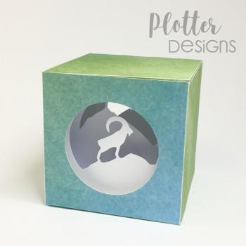 Plotterdatei Lichtbox Steinbock von PlotterDesigns