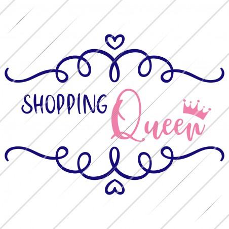 (v) Plotterdatei Shopping Queen von PlotteDesigns
