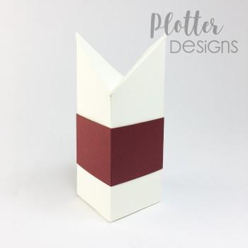 Plotterdatei Selbstschliessende Box mit Rautenverschluss von PlotterDesigns