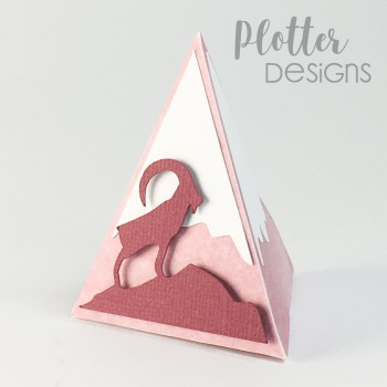 Plotterdatei Berg Box Steinbock von PlotterDesigns