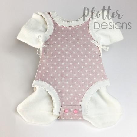 Plotterdatei Baby Body Karte von PlotterDesigns
