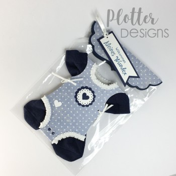 Plotterdatei Baby Body Karte von PlotterDesigns