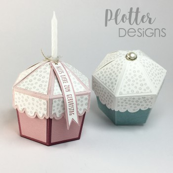 Plotterdatei Cupcake Box von PlotterDesigns