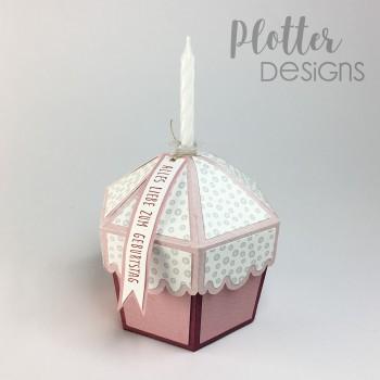 Plotterdatei Cupcake Box von PlotterDesigns
