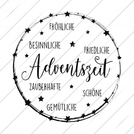 (v)  Digistamp Adventszeit